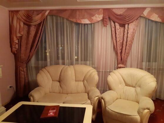 Зона гостиной в номере гостиницы Тернополь