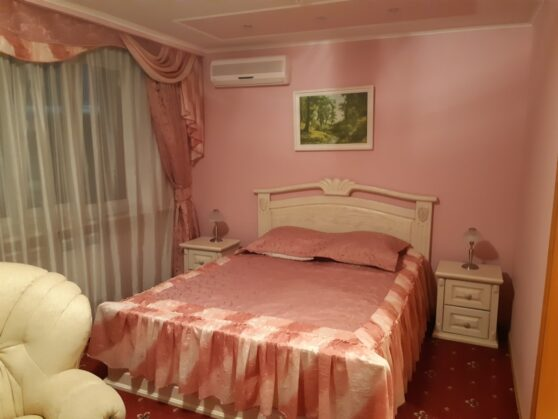 Спальня в номере гостиницы Тернополь