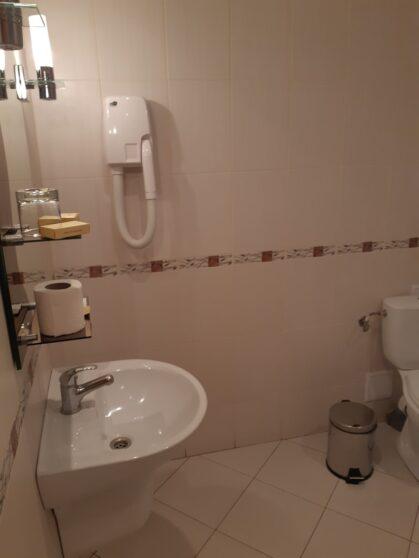 Ванная комната номера гостиницы Тернополь
