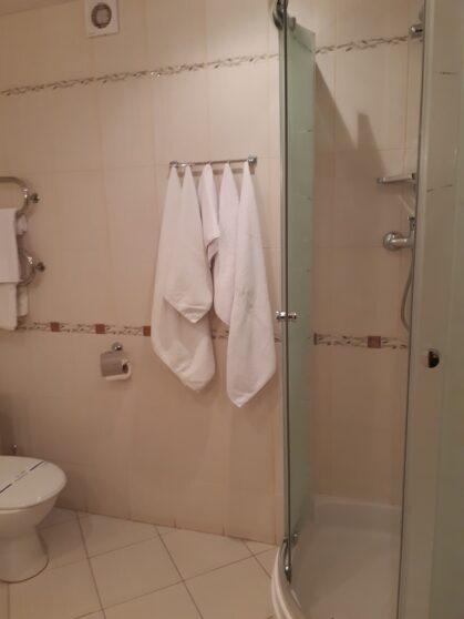 Душ в номере гостиницы Тернополь