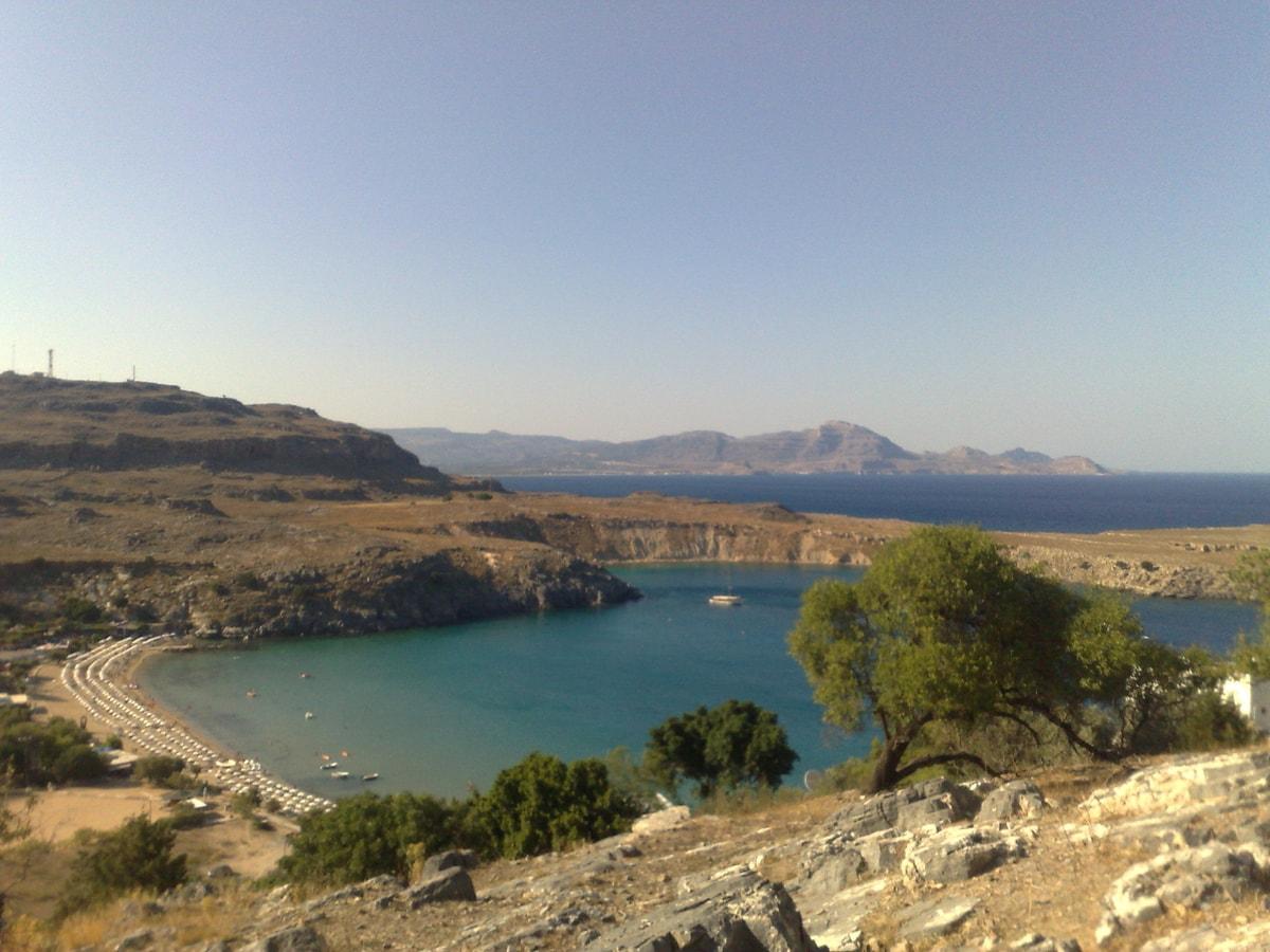 Бухта на острове Родос