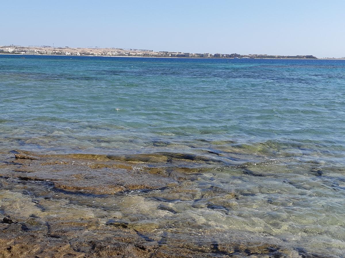 Море в Sahl Hasheesh
