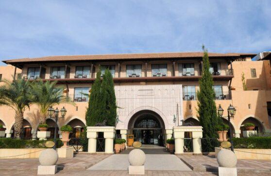 Вход в отель Elysium, Пафос, Кипр