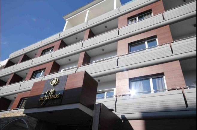 Здание отеля Achilleos City Ларнака