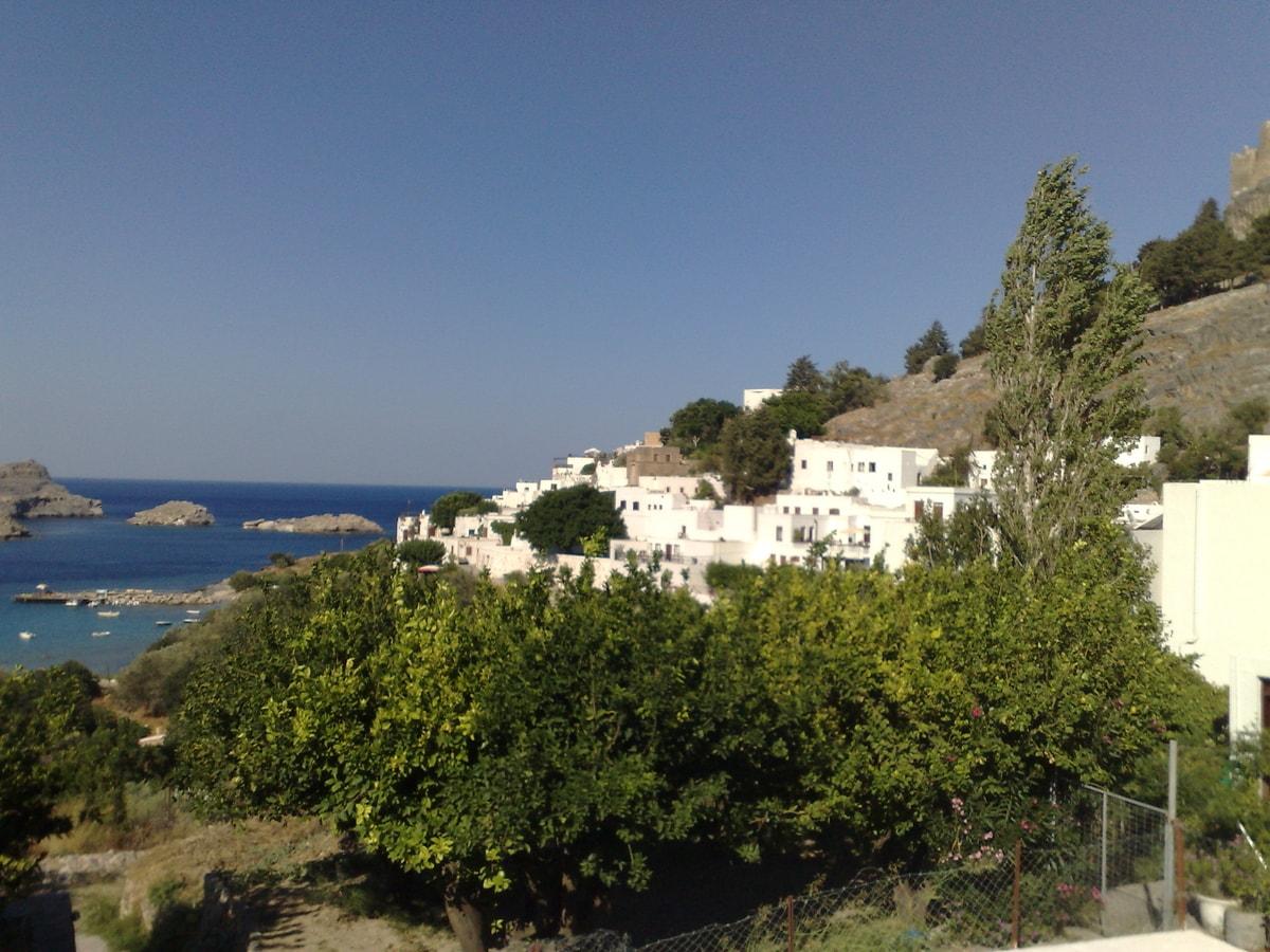 Греция, остров Родос: пейзажи