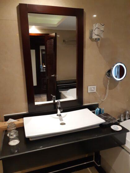 Ванная комната номера executive suites в отеле Sunrise Arabian Beach
