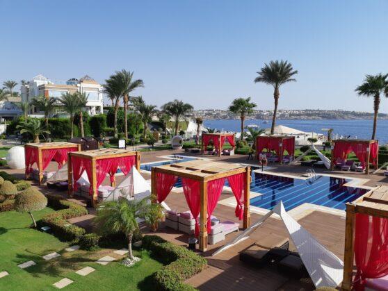 Вид из номера executive suite в отеле Sunrise Arabian Beach