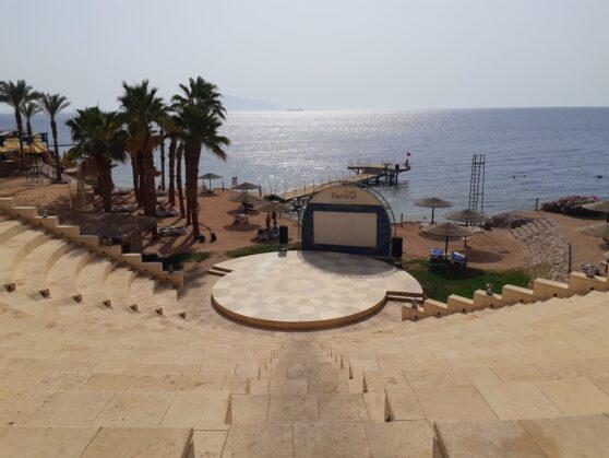 Амфитеатр отеля Grand Rotana Resort and Spa