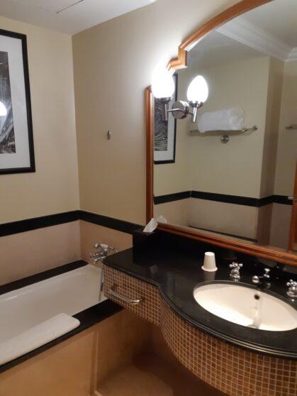 Ванная комната отеля Hyatt Regency Sharm