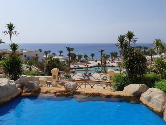 Территория отеля Hyatt Regency Sharm