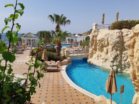 Бассейны отеля Hyatt Regency Sharm
