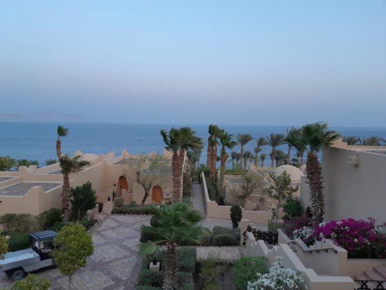 Вид с балкона Premium Sea View Room отеля Four Seasons Resort Sharm