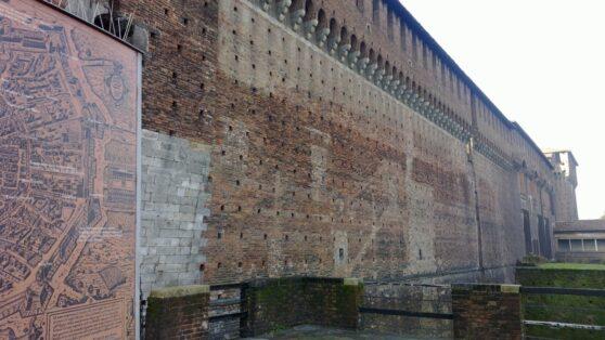Замок Сфорца в Милане