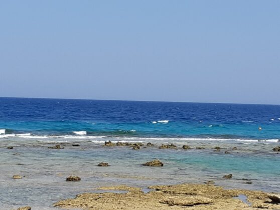 Море в Sahl Hasheesh (ближе к Хургаде)