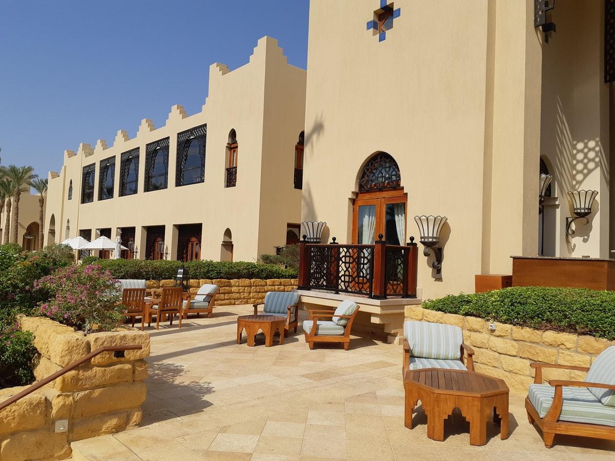 Основное здание Four Seasons Resort Sharm el Sheikh