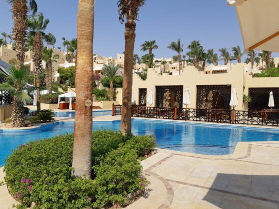 Бассейн отеля Four Seasons Resort Sharm el Sheikh