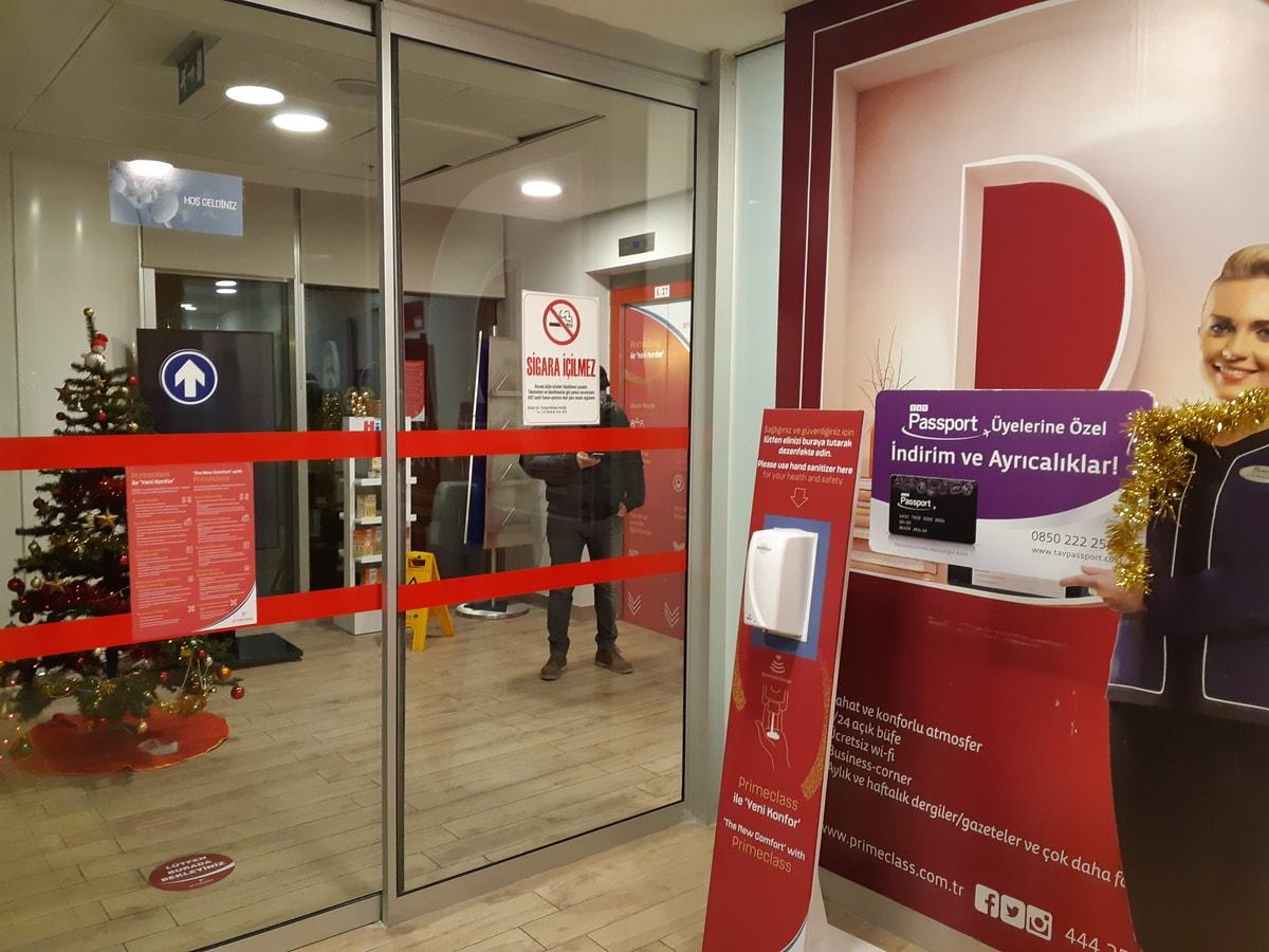 Ankara Airport Domestic Lounge