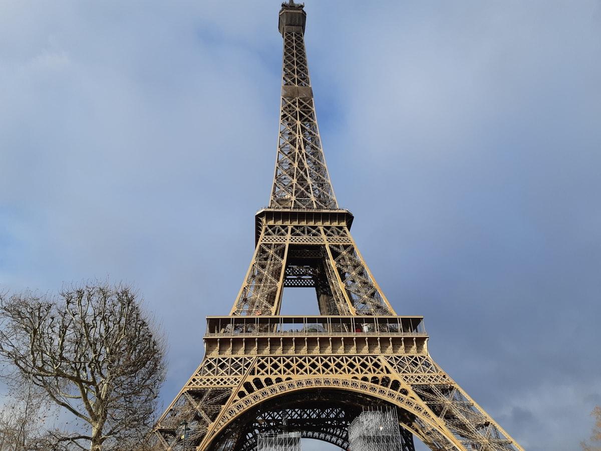 Париж, январь 2020